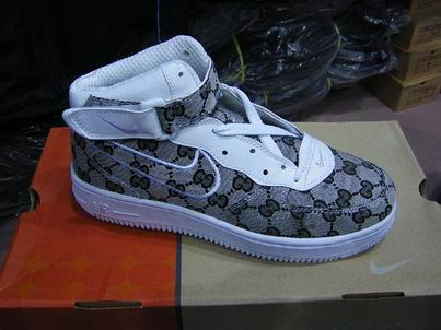 All Gucci Air Force 1 Grey Mid Price 12500